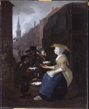 The Curds and Whey Seller, Cheapside: 18th century