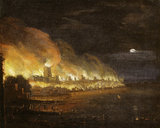 The Great Fire of London: c.1666