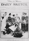 Daily Sketch Front Page 'All the Suffragist leaders arrested': 1913