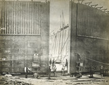 Gates of the Millwall Docks: 1868
