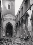 Bomb damage at St Giles, Cripplegate: 20th century