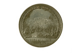 Reverse of Battle of Trafalgar medal: 19th century