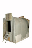 Corrugated iron air raid shelter: 20th century
