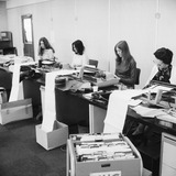 Midland Bank employees at Suffolk House: 1973