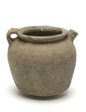 Late Saxon shelly ware pitcher