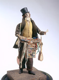 Male pedlar doll or London Cry: 19th century