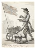Hot Pudding Seller: c. 1759