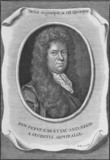 Portrait of Samuel Pepys: 19th century