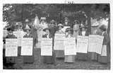 A 'poster parade' of Ealing suffragettes: 20th century