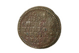 Copper trade token from Stonyer's coffee house: 17th century