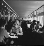 Diners at the Royal Festival Hall: 1968