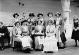 Caterers at The Women's Exhibition, Knightsbridge: 1909