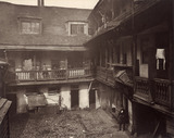 The Oxford Arms Inn Yard: c.1880