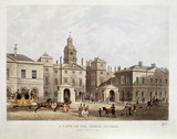 A View of the Horse Guards from Whitehall: 1816