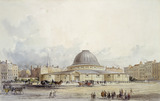 Leicester Square with Wyld's Great Globe: 1850