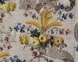 Spitalfields woven silk Court dress: 18th century