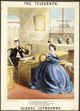 Song sheet cover for The Telegraph: 19th century
