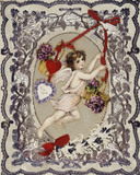 Valentine's card:  19th century
