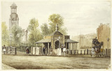 Kennington Toll House: 19th century