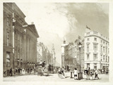 Mansion House, Cheapside & c.: 1842
