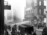 Bomb Damage at Dowgate Hill: 1941