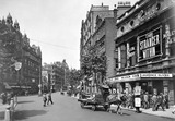 View of Charing Cross Road and the Garrick Theatre: 1929