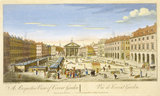 A Perspective View of Covent Garden: 18th century