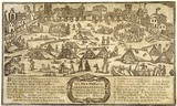 The frost fair on the river Thames in 1715-1716