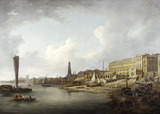 The London Riverfront from Westminster to the Adelphi: 18th century