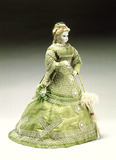 Fashionable doll: 19th century
