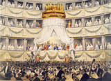 The State Visit to the Royal Italian Opera: 1855
