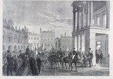 Garibaldi in London: Arrival of the General at Stafford House: 1864