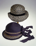 Two summer hats for a woman: 20th century
