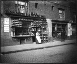 Sunday Bird Fair on Sclater Street: c.1900