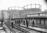 Railway Maintenance Gang, St Pancras Junction: c.1900