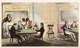 "A Game of Whist. Tom & Jerry among the Swell ""Broad Coves"": 1821"
