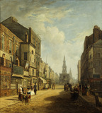 The Strand, Looking Eastwards from Exeter Change: 1824