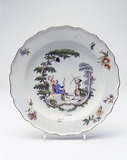 Porcelain plate: 18th century