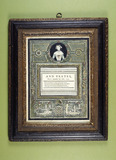 Trade card and drawing: 18th century
