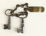 Keys to Newgate chapel Burying Ground: 18th century