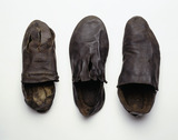 Selection of medieval shoes: 16th century