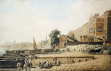 The Adelphi Wharf: 19th century