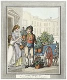 All a growing, a growing, heres Flowers for your Gardens: 1799
