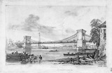 Hammersmith Suspension Bridge: 1828