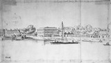 Hampton Court Ferry and the Toy Inn: 18th century