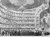 The Late Royal Italian Opera, Covent Garden: 1856