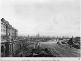 A South View of Somerset House, From Waterloo Bridge: 1817