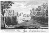 A Prospect of the Grand Canal in Lord Burlington's Garden at Chiswick: 18th century