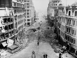 City bomb damage at King William Street: 1940