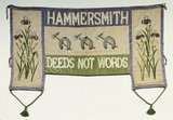 Suffrage banner of Hammersmith WSPU: 20th century